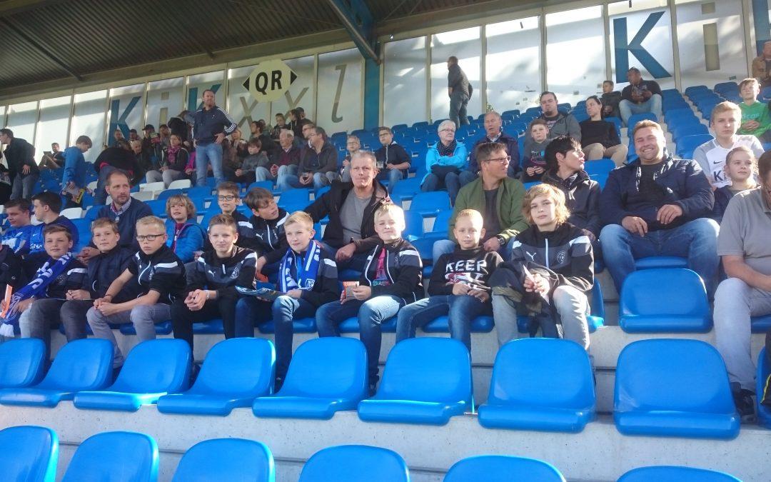 D1 besucht mit Eltern das 3. Liga-Spiel SV Meppen : Karlsruher SC